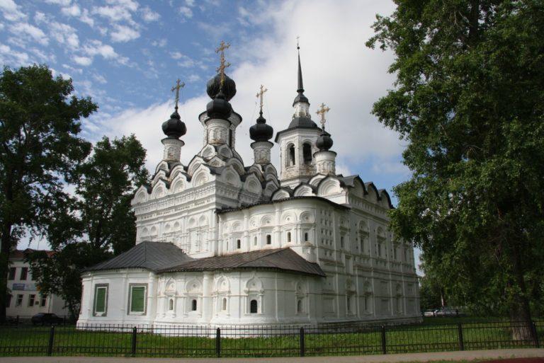 Церковь Вознесения. 1648–1649