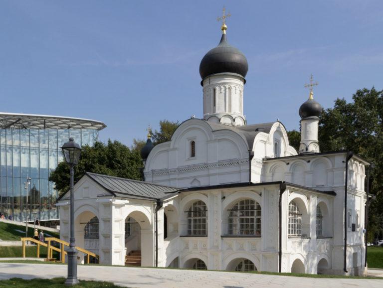 Церковь Зачатия Анны, что в Углу. После 1547