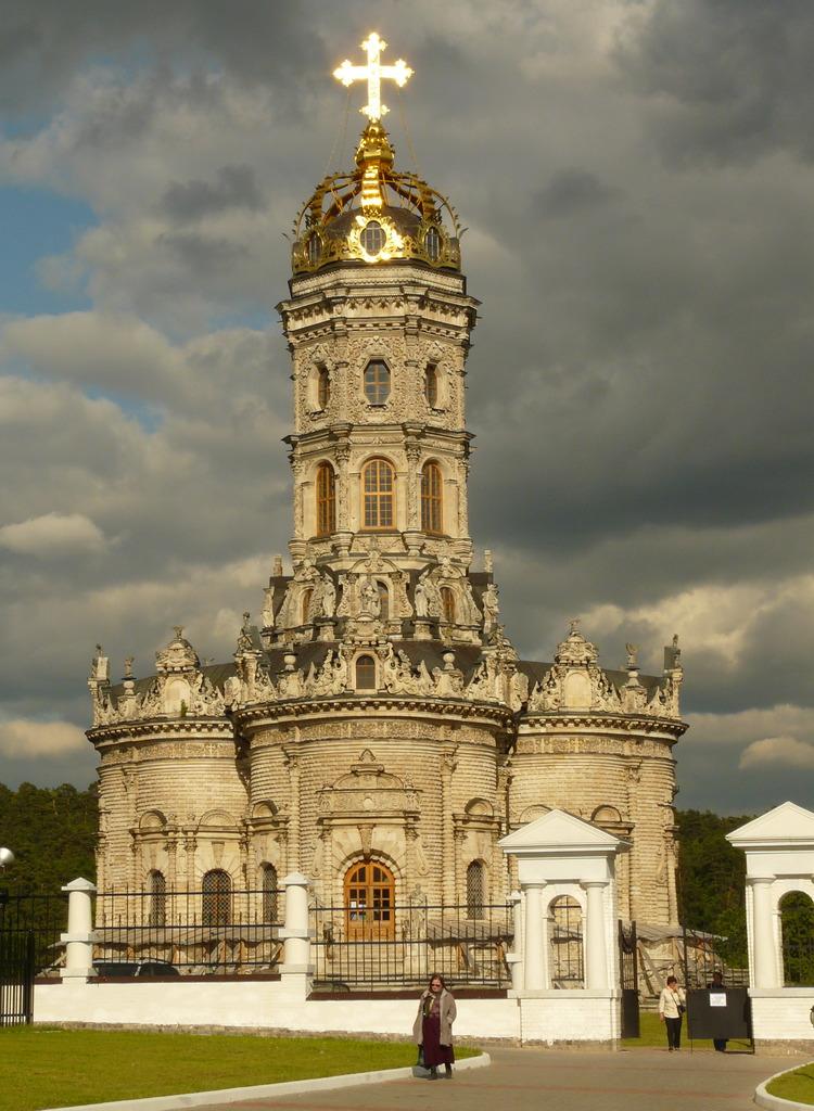 Церковь Знамения. 1690–1697