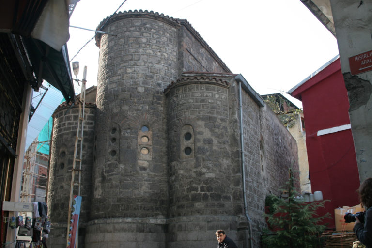 Церковь св. Анны. Конец IX в. Трабзон (Трапезунд), Турция