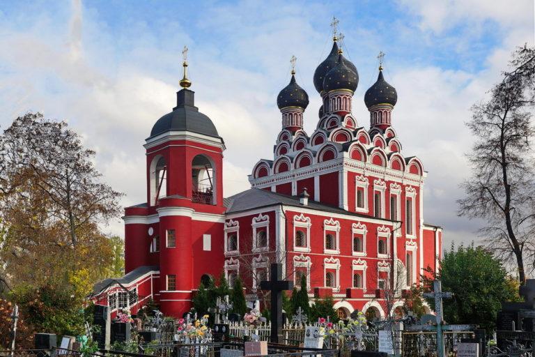Тихвинская церковь в Алексеевском. 1673–1680