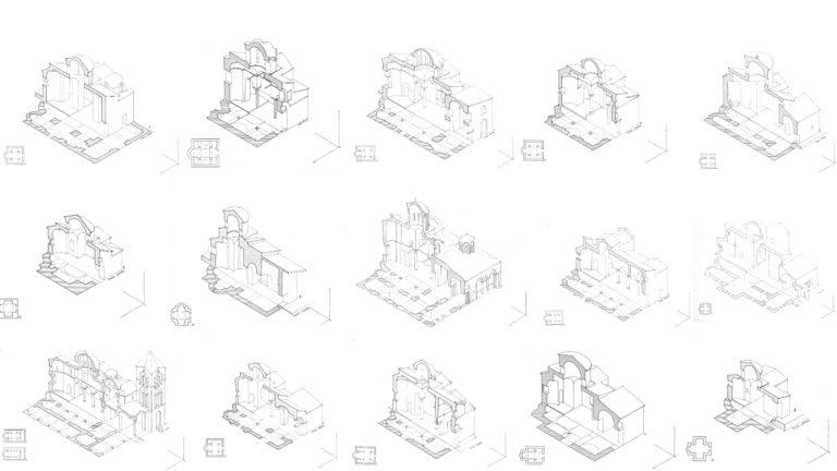 Типы крестово-купольного храма