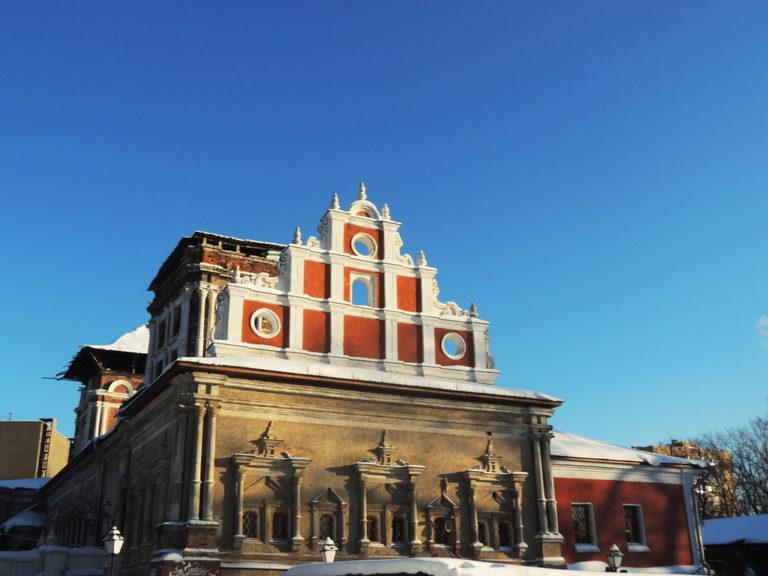Трапезная палата Симонова монастыря в наши дни