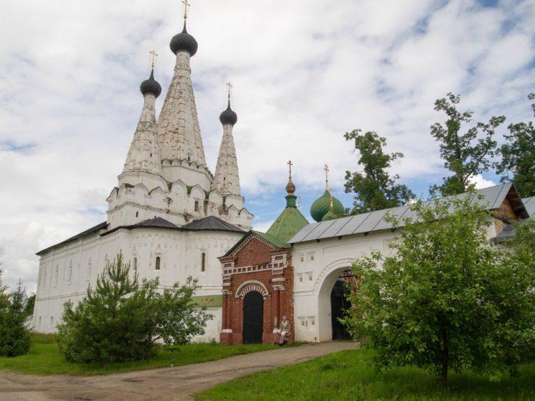 Трапезная с церковью Успения («Дивной»). 1638–1639