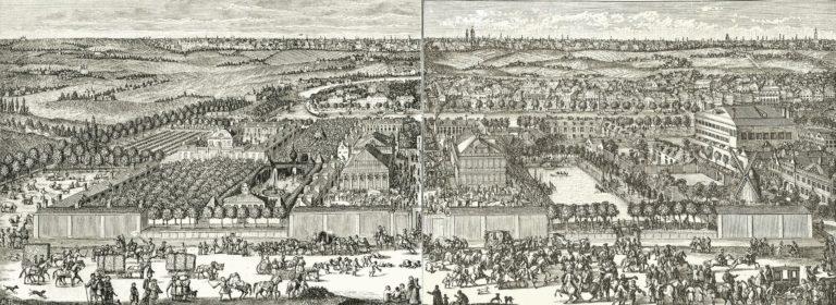 Усадьба Ф. А. Головина и Немецкая слобода. Ок. 1705