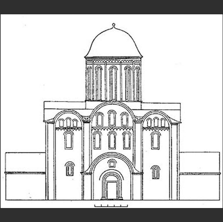 Успенский собор Елецкого Успенского монастыря в Чернигове