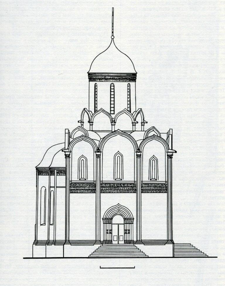 Успенский собор на Городке в Звенигороде. Ок. 1400