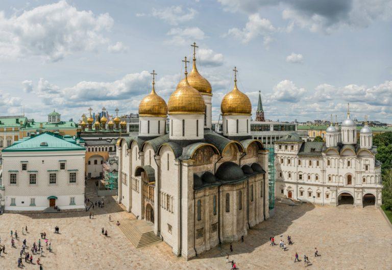 Успенский собор, вид с юго-востока. 1475–1479
