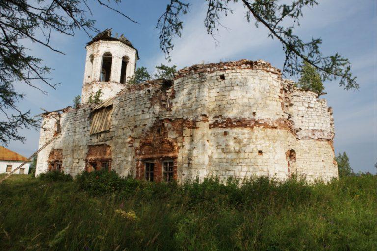 Успенский собор, вид с юго-востока. 1707–1734