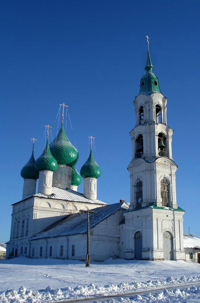Воскресенская церковь, вид с северо-запада. 1779