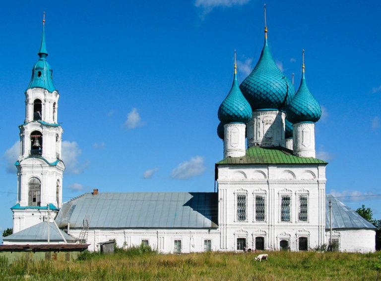Воскресенская церковь. 1779