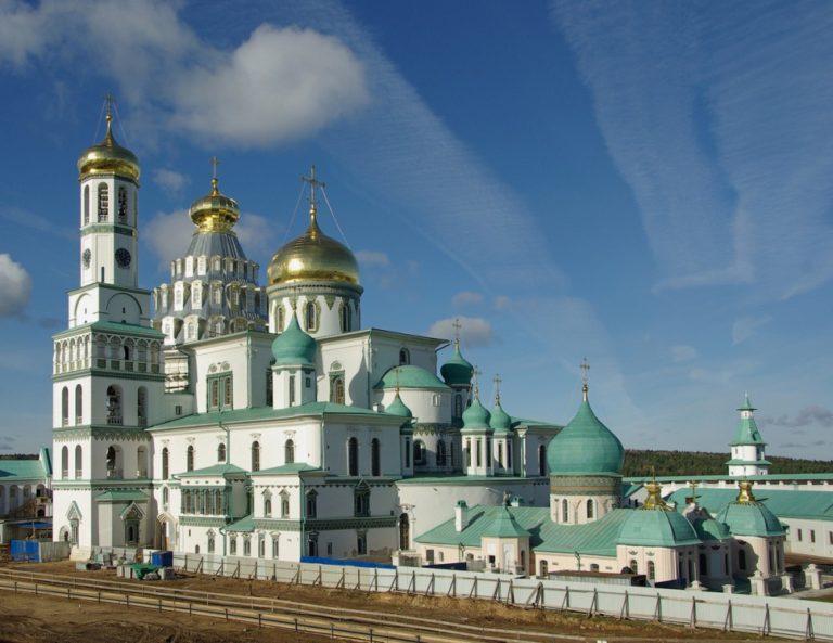 Воскресенский собор Новоиерусалимского монастыря, современный вид