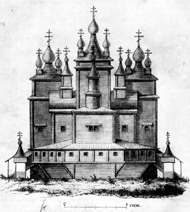 Воскресенский собор (не сохранился). 1681–1684
