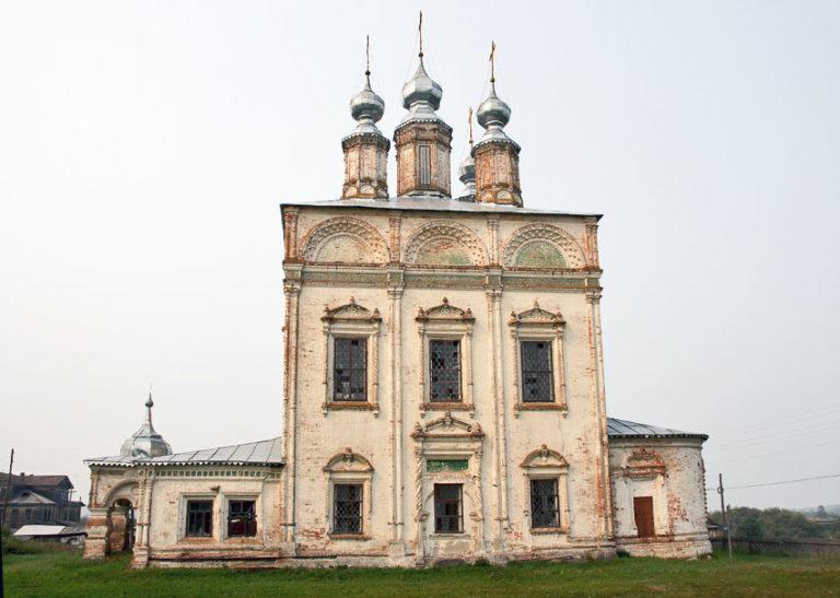 Воскресенский собор, вид с юга. 1698–1715