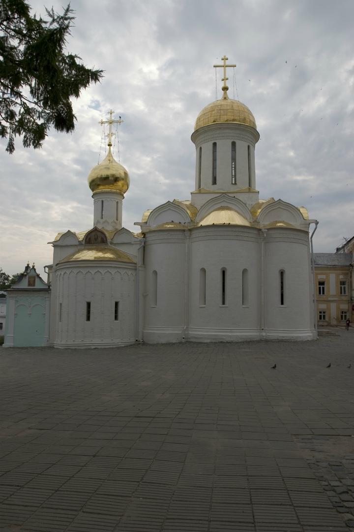 Восточный фасад Троицкого собора