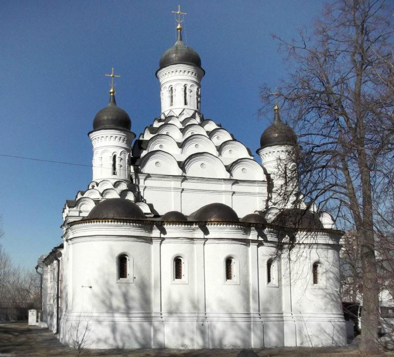 Восточный фасад церкви Троицы в Хорошеве. Ок. 1596–1598