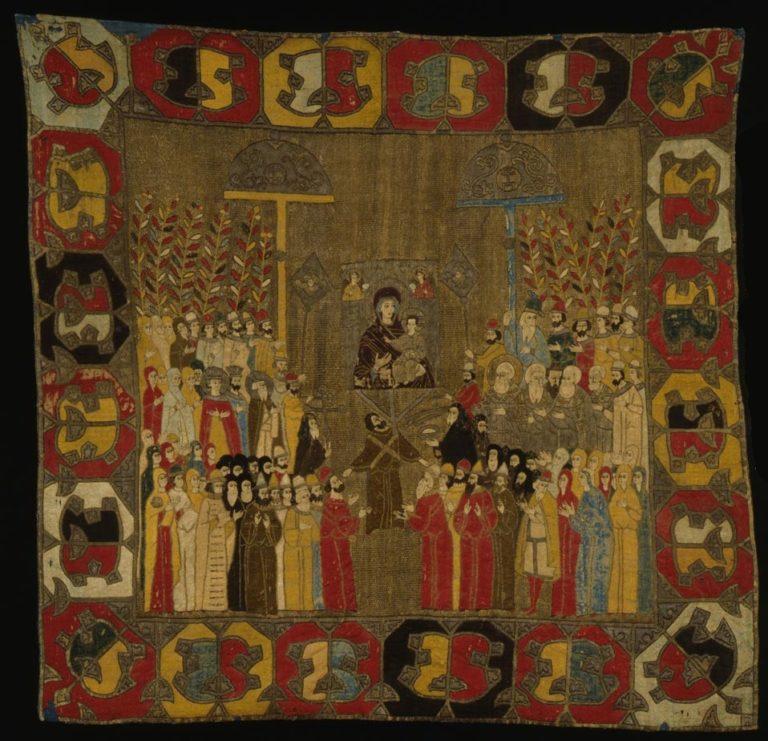 Выход Ивана III и Димитрия Внука на Вербное воскресение. 1498