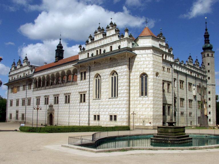 Замок в Литомышле. 1575–1581