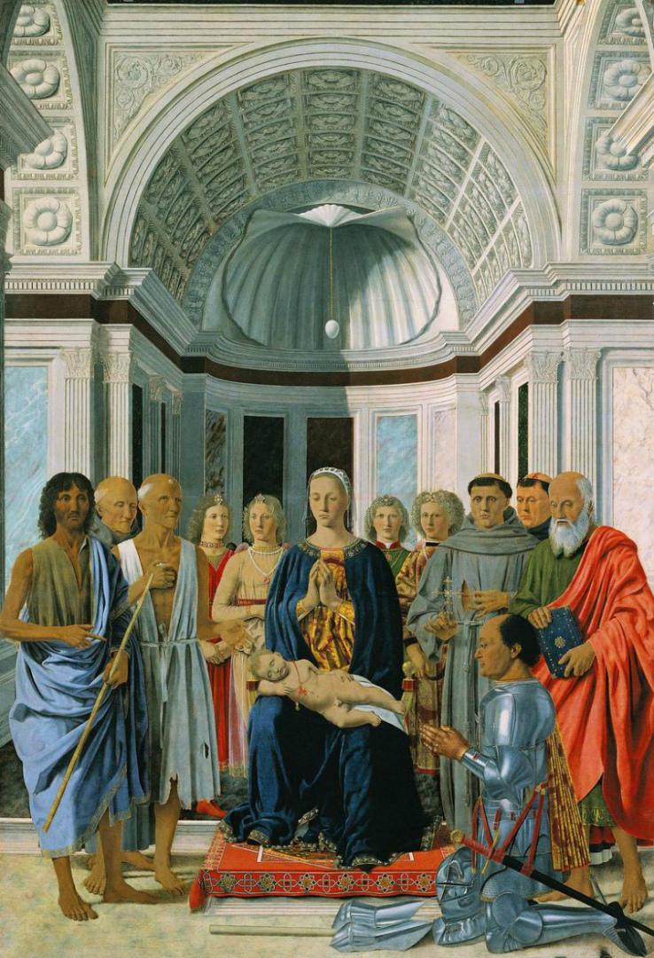 Алтарь Монтефельтро. 1472–1474