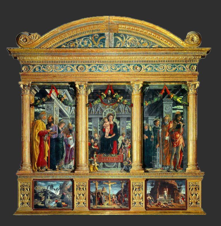 Алтарь Сан-Дзено. 1457–1460