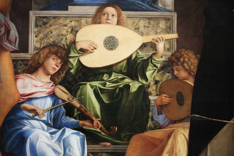 Алтарь Сан-Джоббе. Фрагмент. 1478–1488