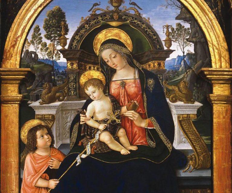 Алтарь Санта Мария деи Фосси. Центральная часть. 1496–1498