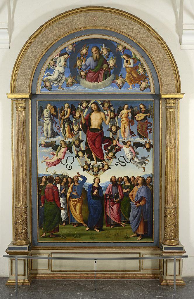 Алтарь св. Петра. Центральная часть. Ок. 1496–1500