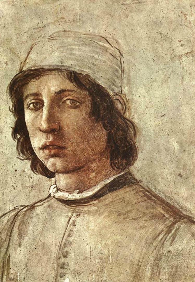 Автопортрет. Ок. 1485