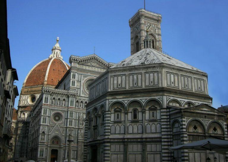 Баптистерий Сан-Джованни и собор Санта Мария дель Фьоре
