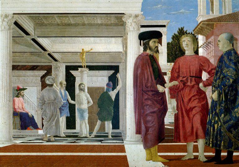 Бичевание Христа. Ок. 1455–1460