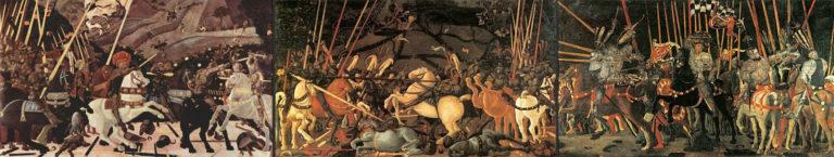 Битва при Сан-Романо. Триптих. 1456–1460