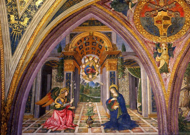 Благовещение. 1492–1494