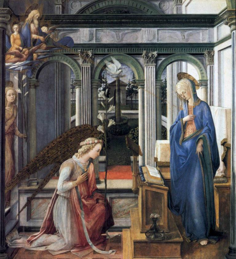 Благовещение. Ок. 1443–1445