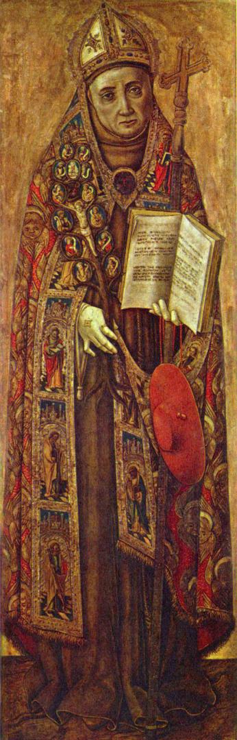 Бонавентура, генерал францисканского ордена и профессор францисканской школы в Париже. Ок. 1500