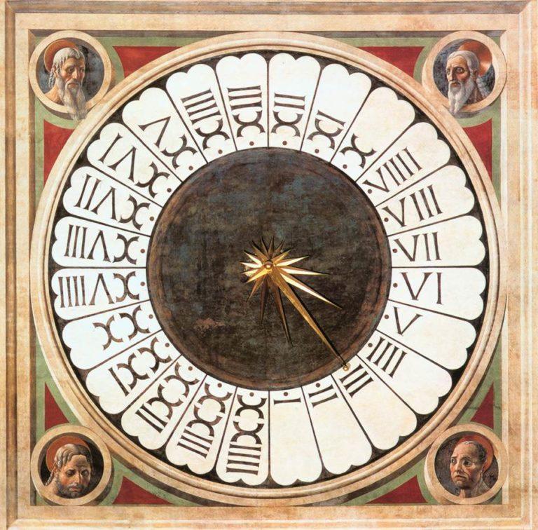 Часы в соборе Санта Мария дель Фьоре. Ок. 1443