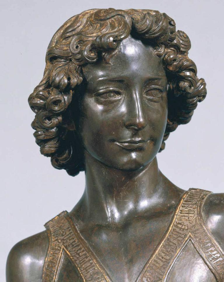 Давид. Фрагмент. 1472–1475