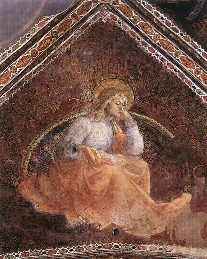 Евангелист Лука. 1452–1465