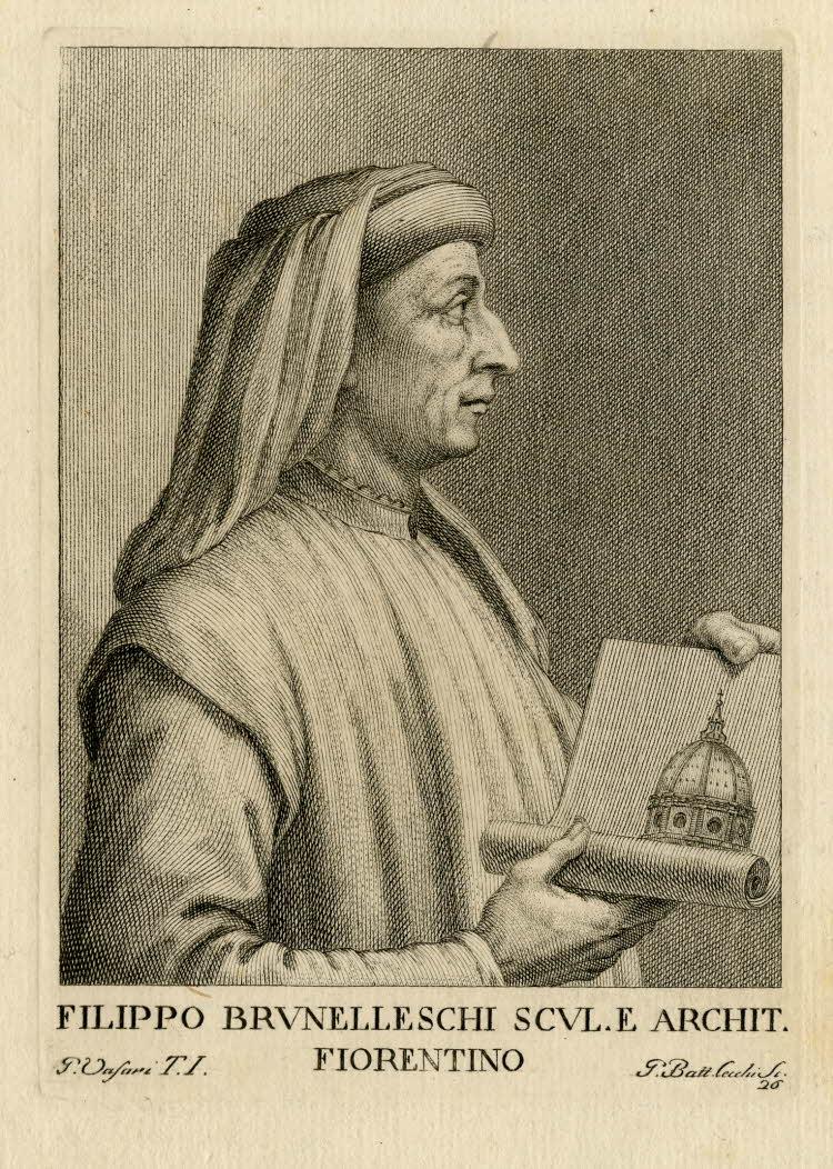Филиппо Брунеллески. Ок. 1769–1775