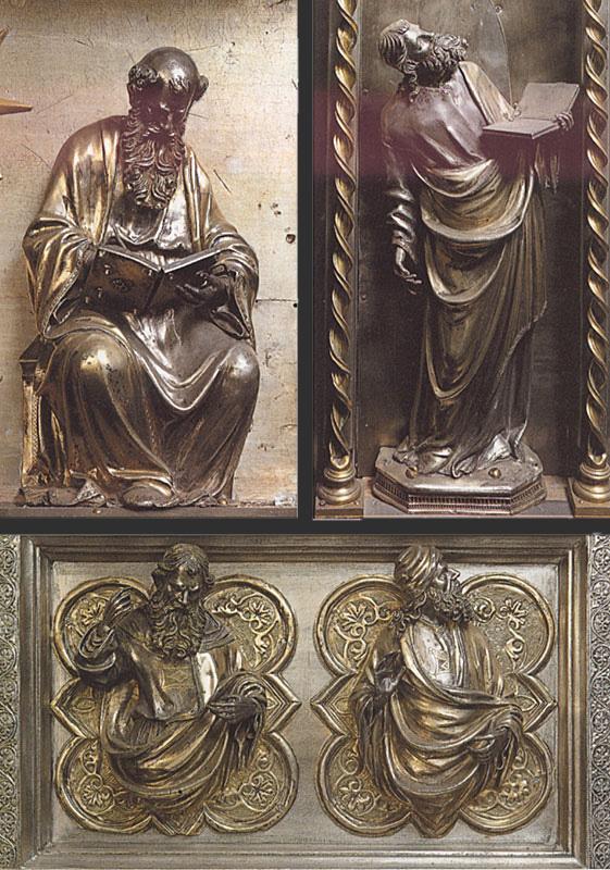 Фрагменты алтаря Сан Якопо. 1400–1401