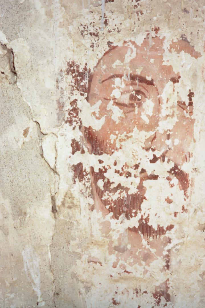 Фреска Сентинского храма. X-XI вв.