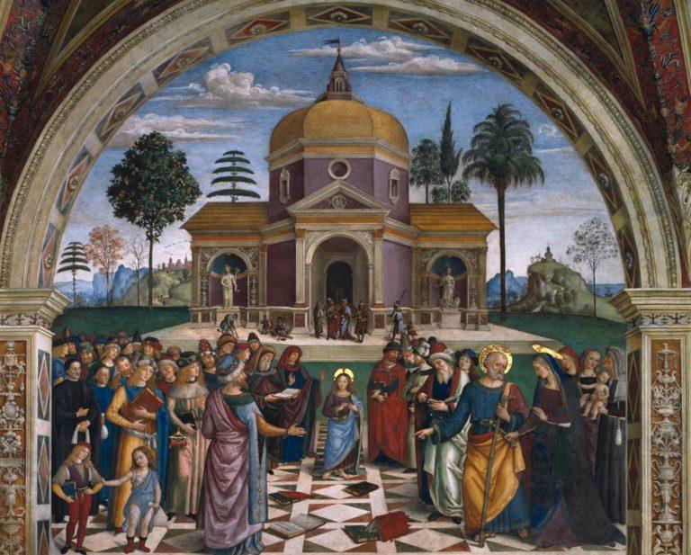 Христос среди учителей. Ок. 1501