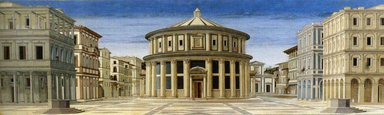 Идеальный город. Ок. 1470–1490