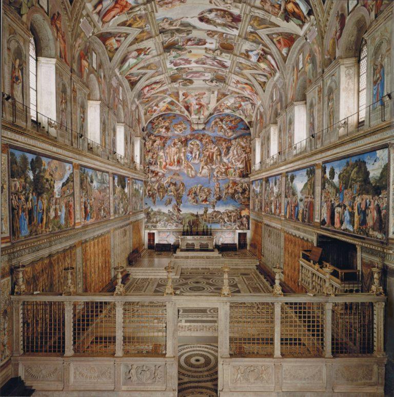 Интерьер Сикстинской капеллы, Ватикан