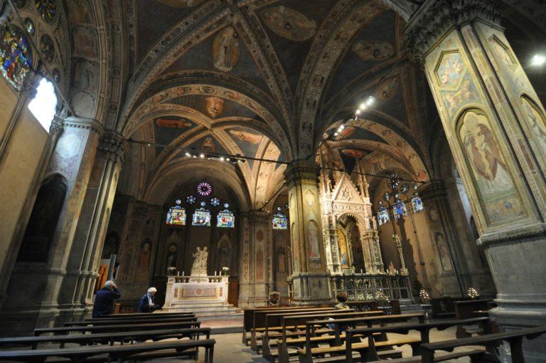 Интерьер церкви Орсанмикеле, Флоренция