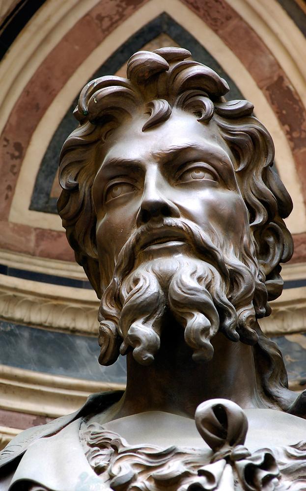 Иоанн Креститель. Фрагмент. 1412–1416