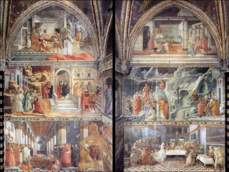 Истории святого Стефана и святого Иоанна Крестителя. 1452–1465
