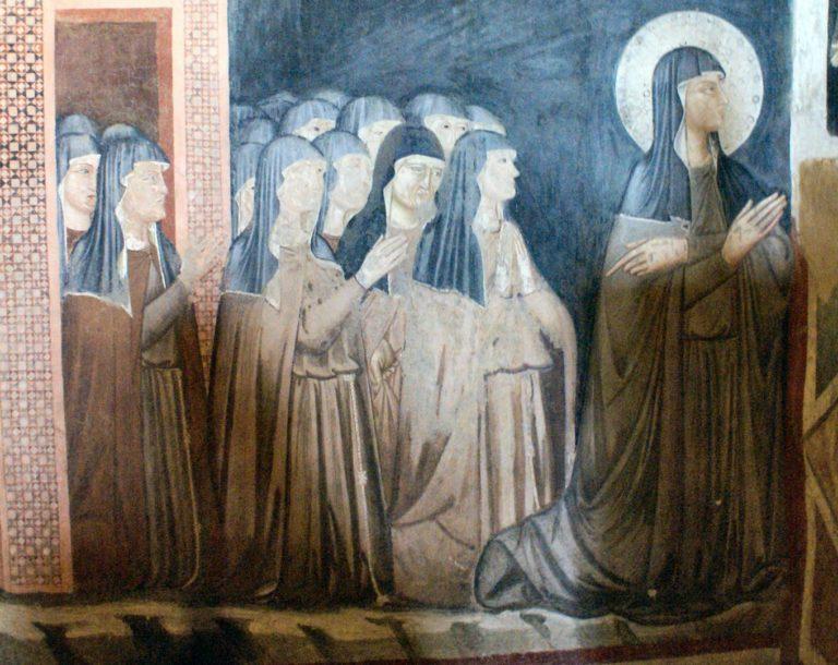 Клара Ассизская и монахини её ордена