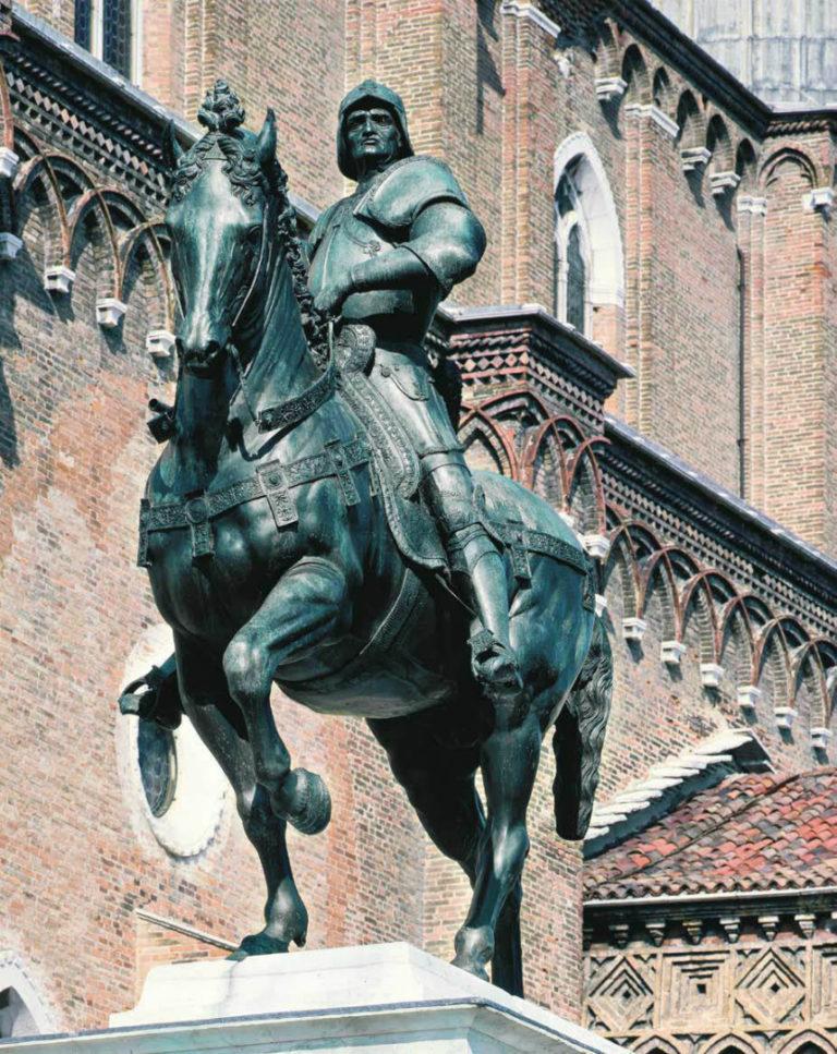 Конная статуя Бартоломео Коллеони. 1480–1492