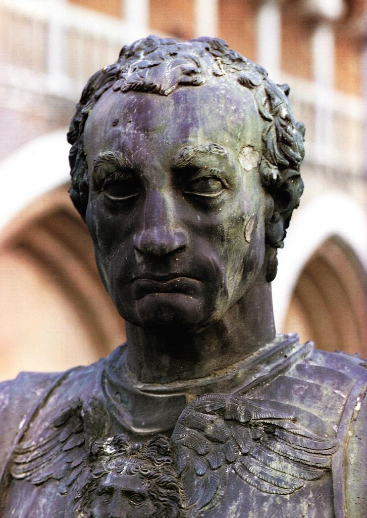 Конная статуя кондотьера Гаттамелаты. Фрагмент. 1447–1453