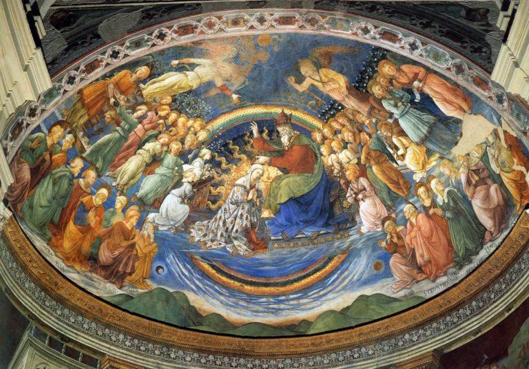 Коронование Девы Марии. 1467–1469